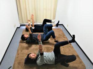 ストレッチポールを使った体幹トレーニング